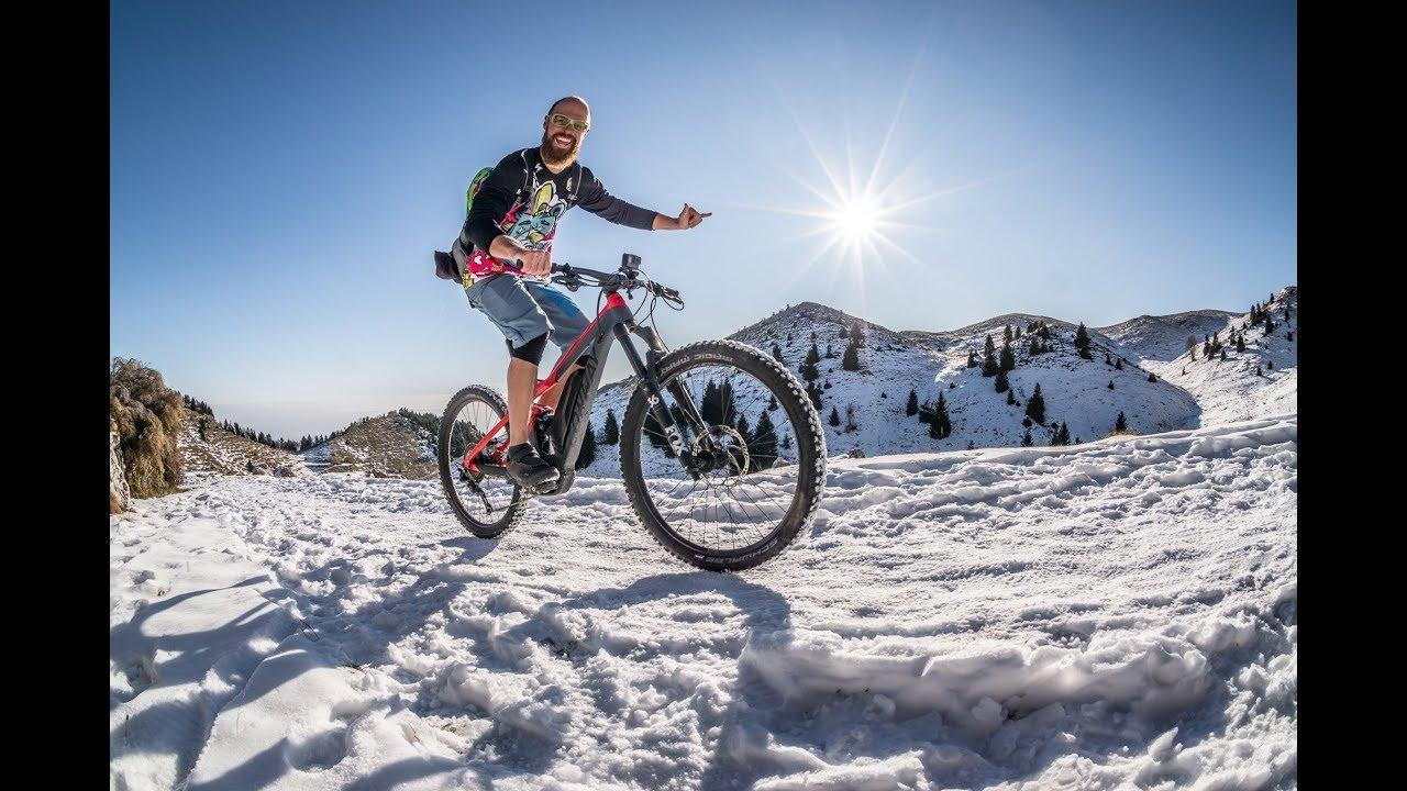 MONTE GRAPPA 1.776 m.ü.A. TAG 3 / Bassano del Grappa / Mountainbike Winter Tour / Crazy Bike Girl