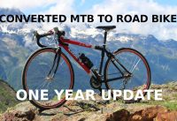 MTB to road bike conversion - 1 year update