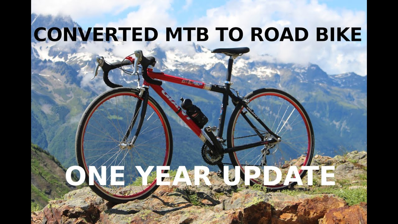 MTB to road bike conversion - 1 year update