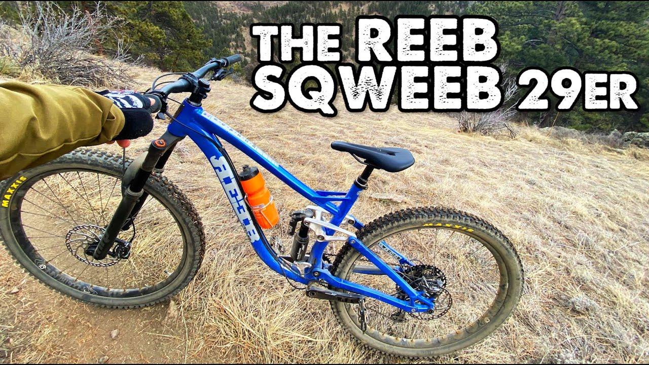 My New Bike Is American Made in Colorado!-The Reeb Sqweeb 29er