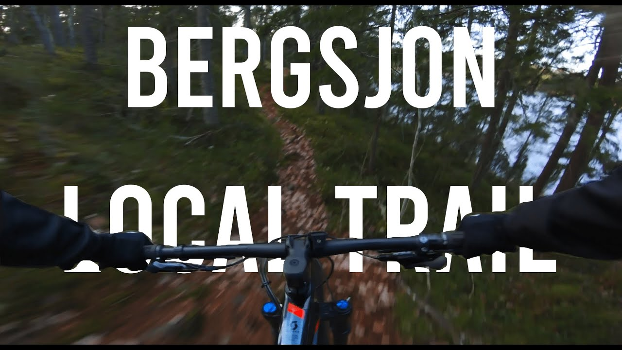 My local Mountain Bike Trail in 4k 60