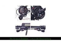 """☘️ NCM Moscow E-Bike, E-MTB, E-Mountainbike 48V 13Ah 624Wh - 27,5"""" Schwarz"""