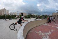 Subindo a Marquize de BMX - Victor Borracha