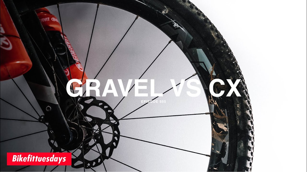 The BIG Difference between Gravel and Cyclocross Bikes - BikeFitTuesdays