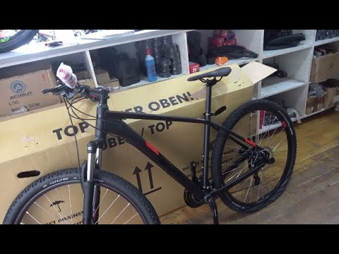 unboxing Mountain Bike CUBE BIKE 2020