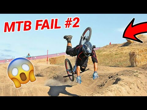 MTB FAIL MOMENTS 2020 😂😱 // DOWNHILL TRIAL DIRT BMX // PART 2