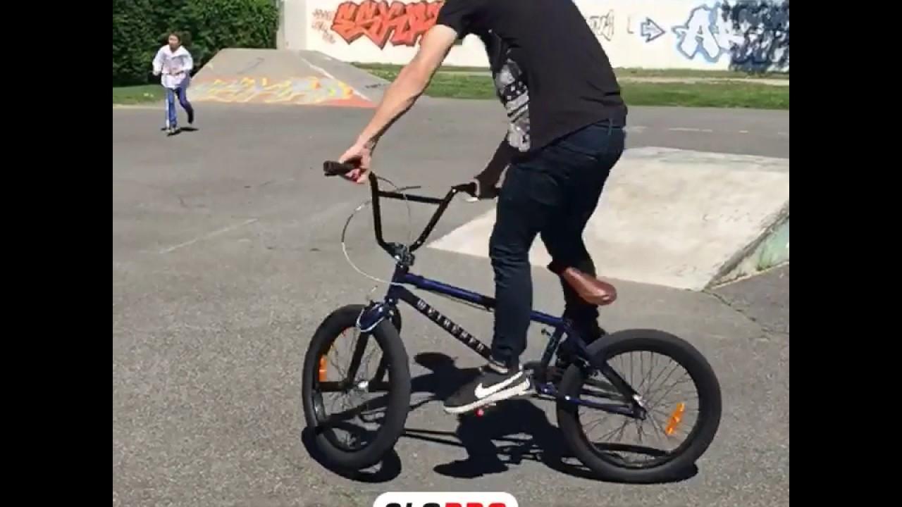 180 flat en BMX