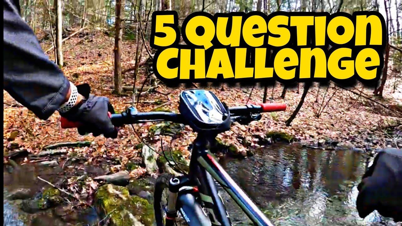 5 Question Challenge on a Mountain bike   Giant Talon 3