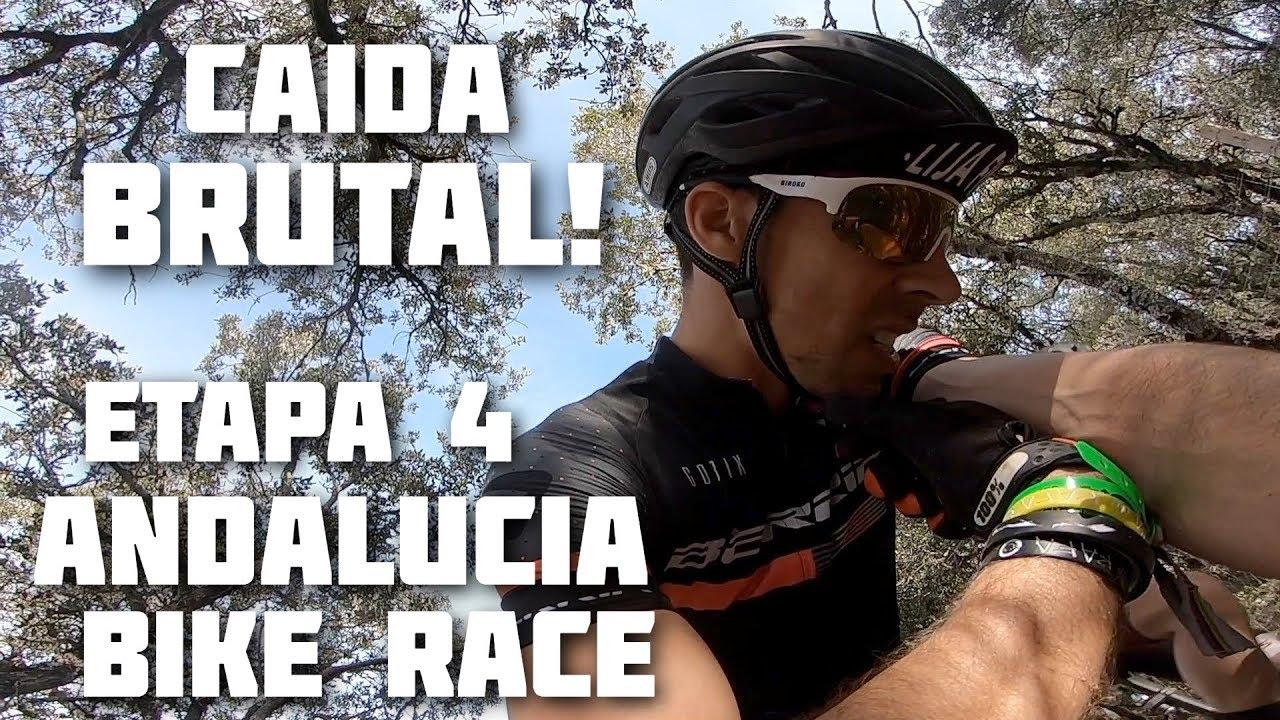 😥CAIDA TERRIBLE 😫- ETAPA 4 ANDALUCIA BIKE RACE | Javier Ordieres