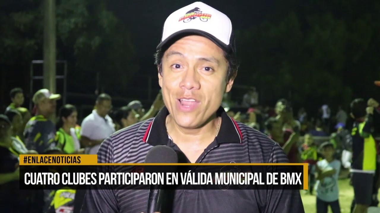 Cuatro clubes participaron en válida municipal de BMX