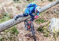 DAS WAR KNAPP! BAUM IM WEG / Mountainbike Tour Eisstein Tirol / E-Bike Conway 2020 Zwischenfazit MTB