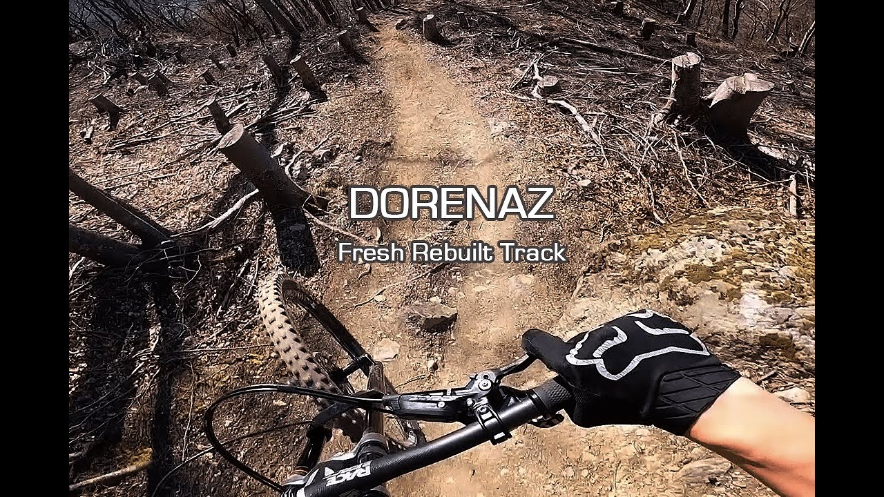 DORENAZ - Fresh Track / New bike - full run