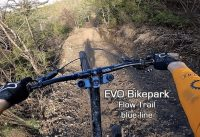 EVO Bikepark - Muddy Blue line / Flow trail