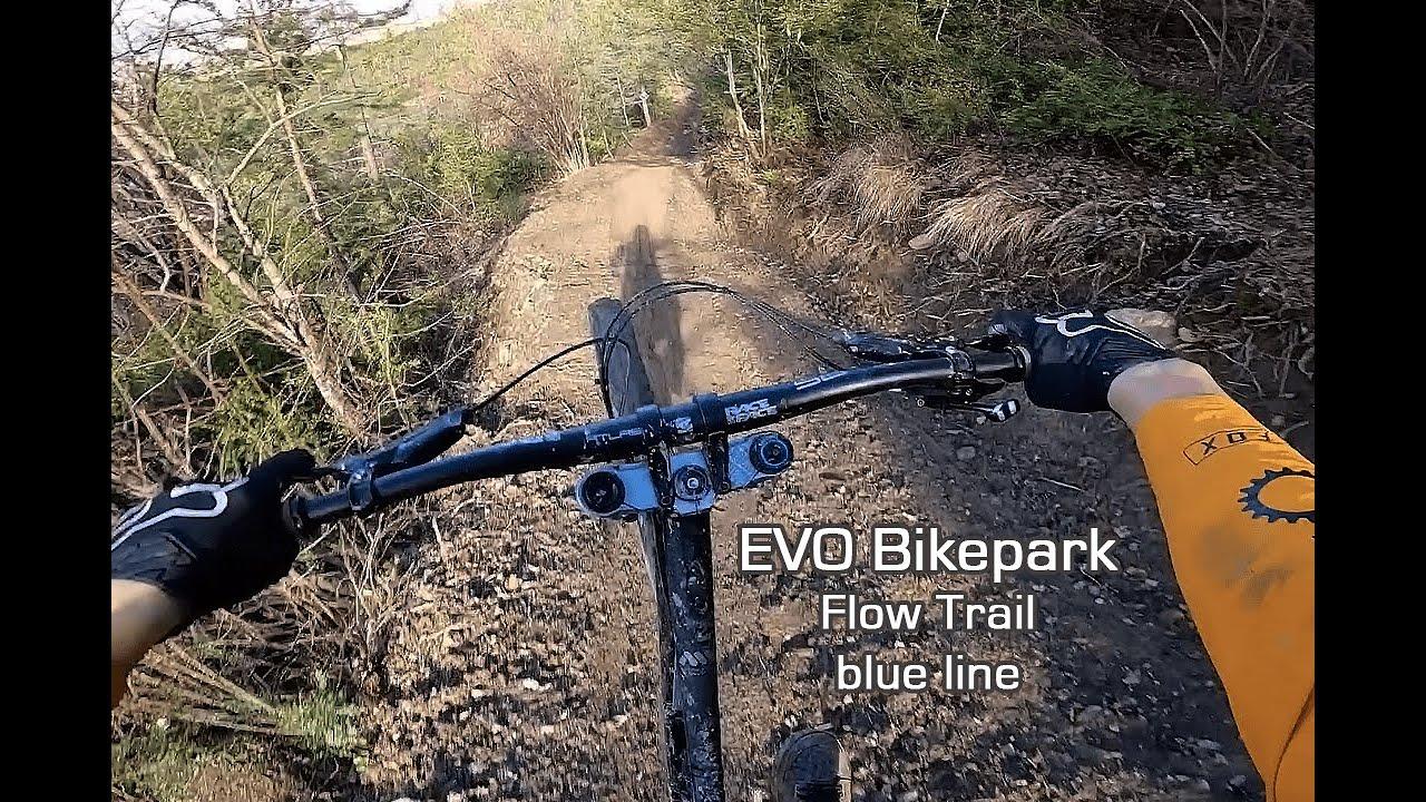 EVO Bikepark - Muddy Blue line / Flow trail