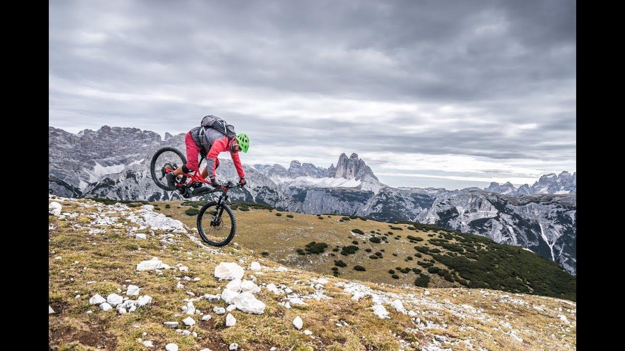 Einfach erreichbarer Aussichtsberg / Biketour von der Plätzwiese zum Strudelkopf / Pragser Dolomiten