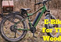 Electric Bike For Hunting | Checking Trail Cameras and Putting out Deer Mineral on Electric Bike