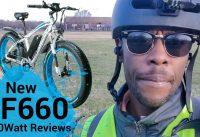 Electric Bike Review I New 1000Watt 48V  13ah Fat Tire Electric BikeI Cyrusher XF660