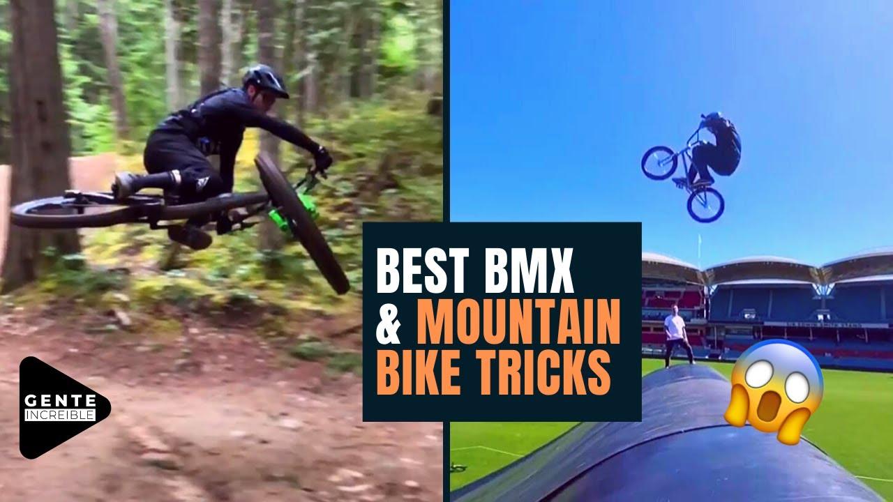 GENTE INCREIBLE - BEST BMX & MOUNTAIN BIKE TRICKS FROM THE LAST WEEK 2020