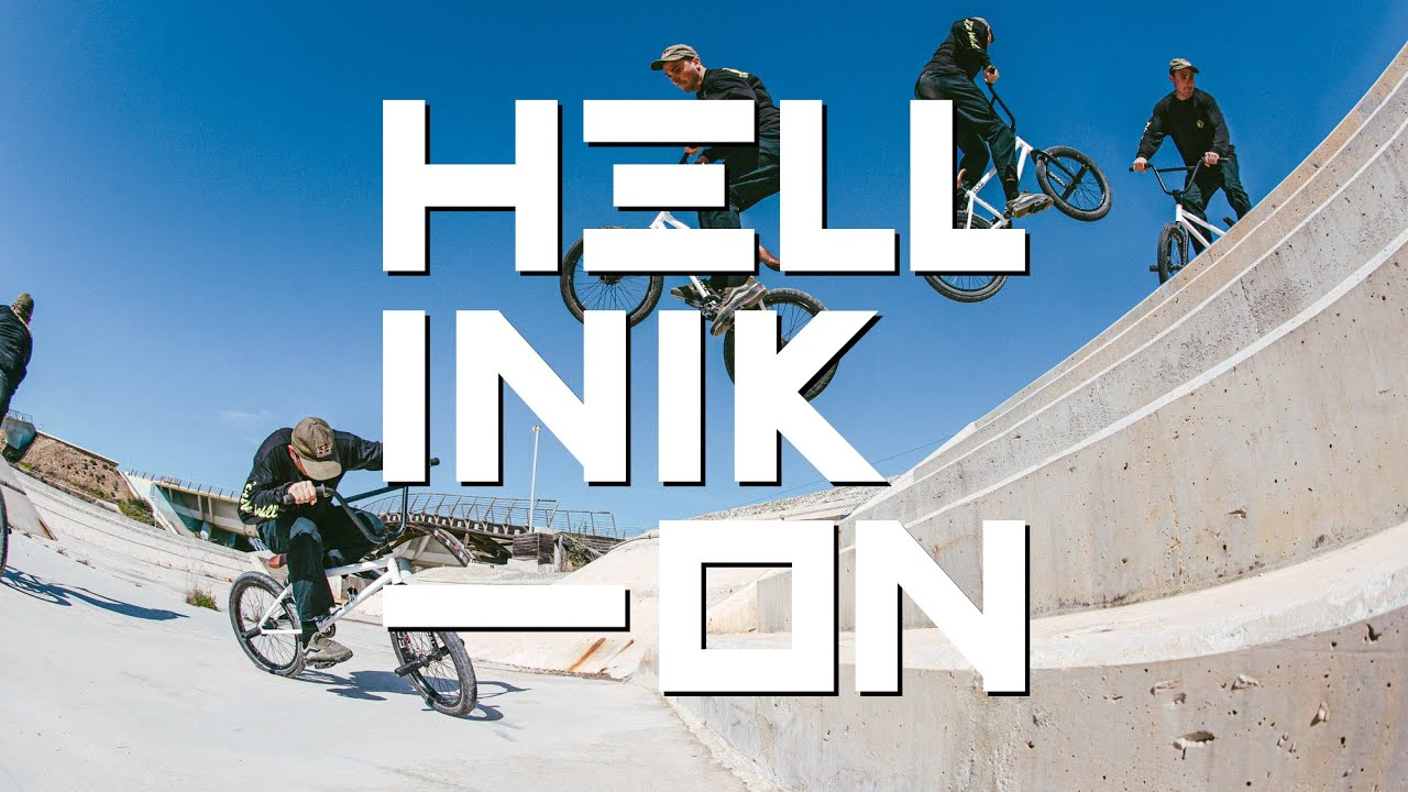 HELLINIKON: Riding BMX at an abandoned Olympic canoe track