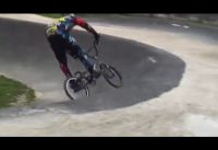 Keep trying shaping jumps bmx racing training
