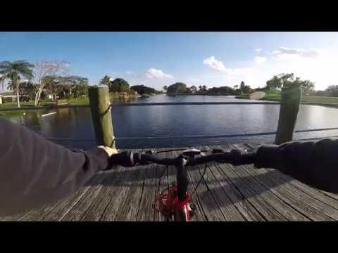 Mountain Bike Ride - Nice Lake and Park.