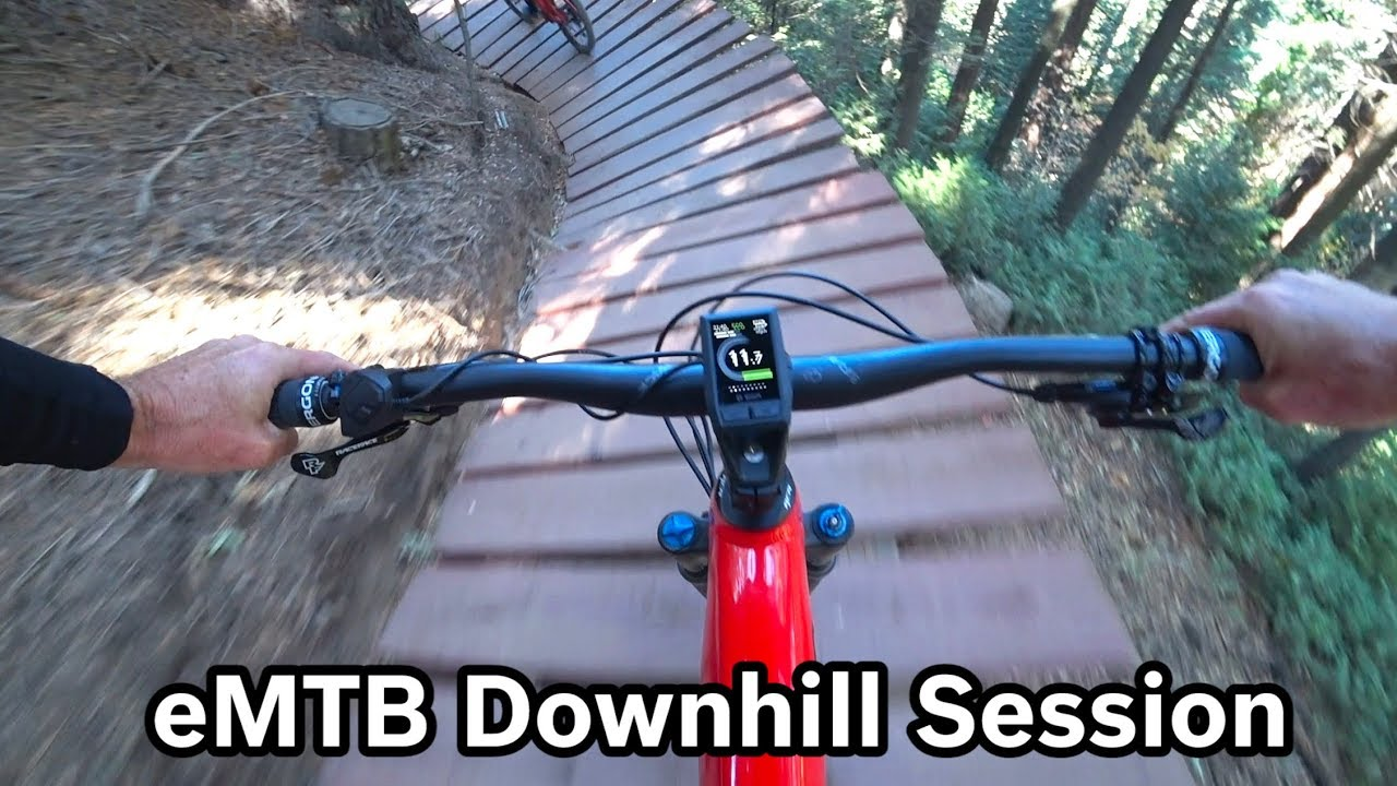 My First Time on an E Mountain Bike-Is This the Future?