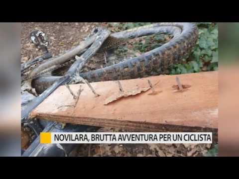Novilara, brutta avventura per un ciclista