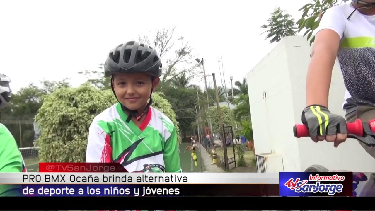 Pro BMX Ocaña brinda alternativa de deporte a los niños y jóvenes