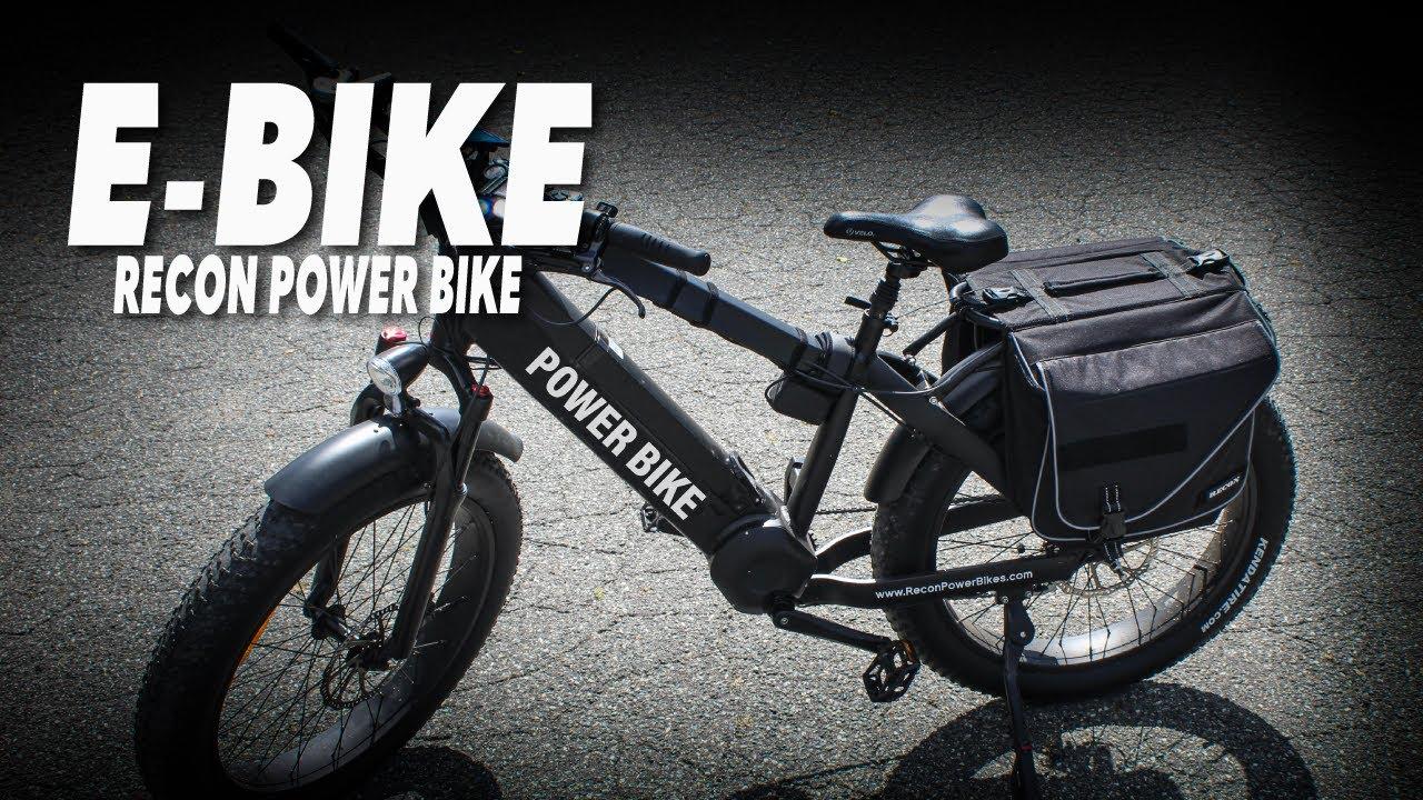 RECON POWER BIKES | E-bikes | Electric Bike | Fat Electric Bikes