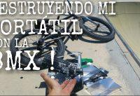REVIENTO MI PC CON MI BMX !!  | ¡¿ SOBREVIVIRA ?!? | BMX VS PC | REDU_BMX