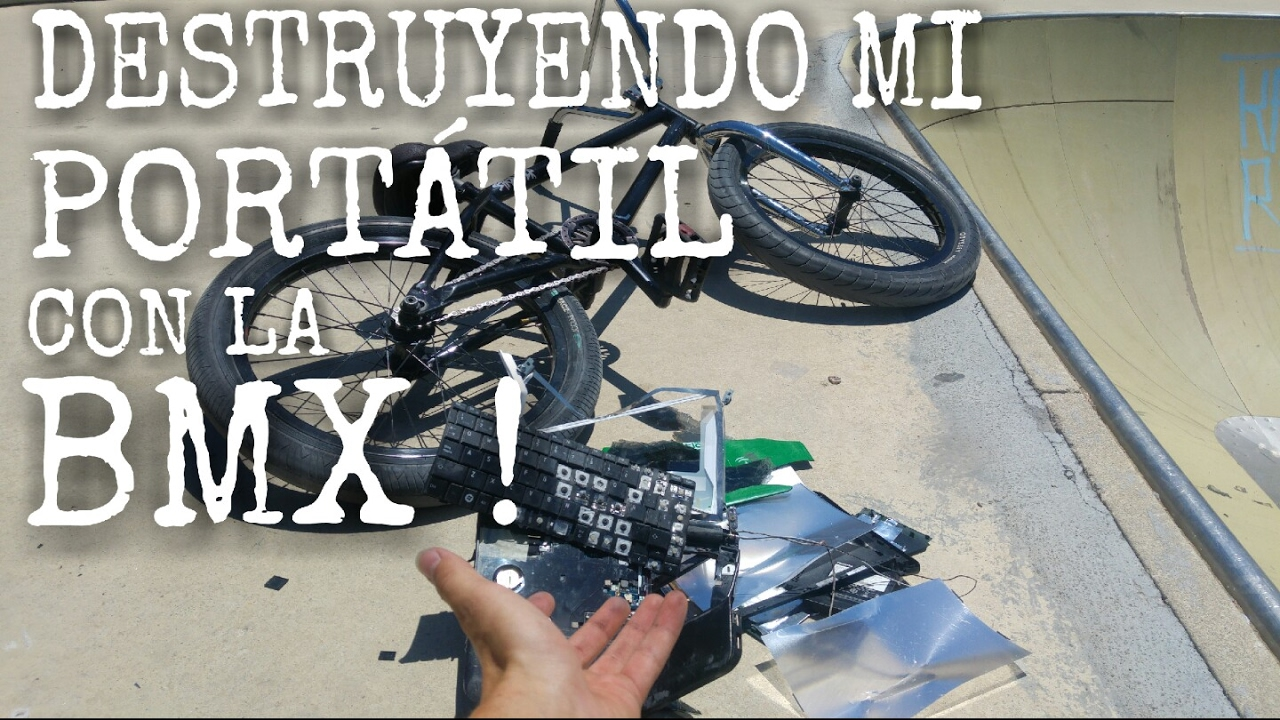 REVIENTO MI PC CON MI BMX !!  | ¡¿ SOBREVIVIRA ?!? | BMX VS PC | REDU_BMX