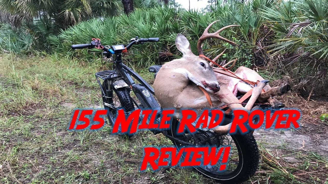 Rad Rover Hunting Fat Tire E-Bike: 155 mile review (Swamp N Stomp ep. #46)