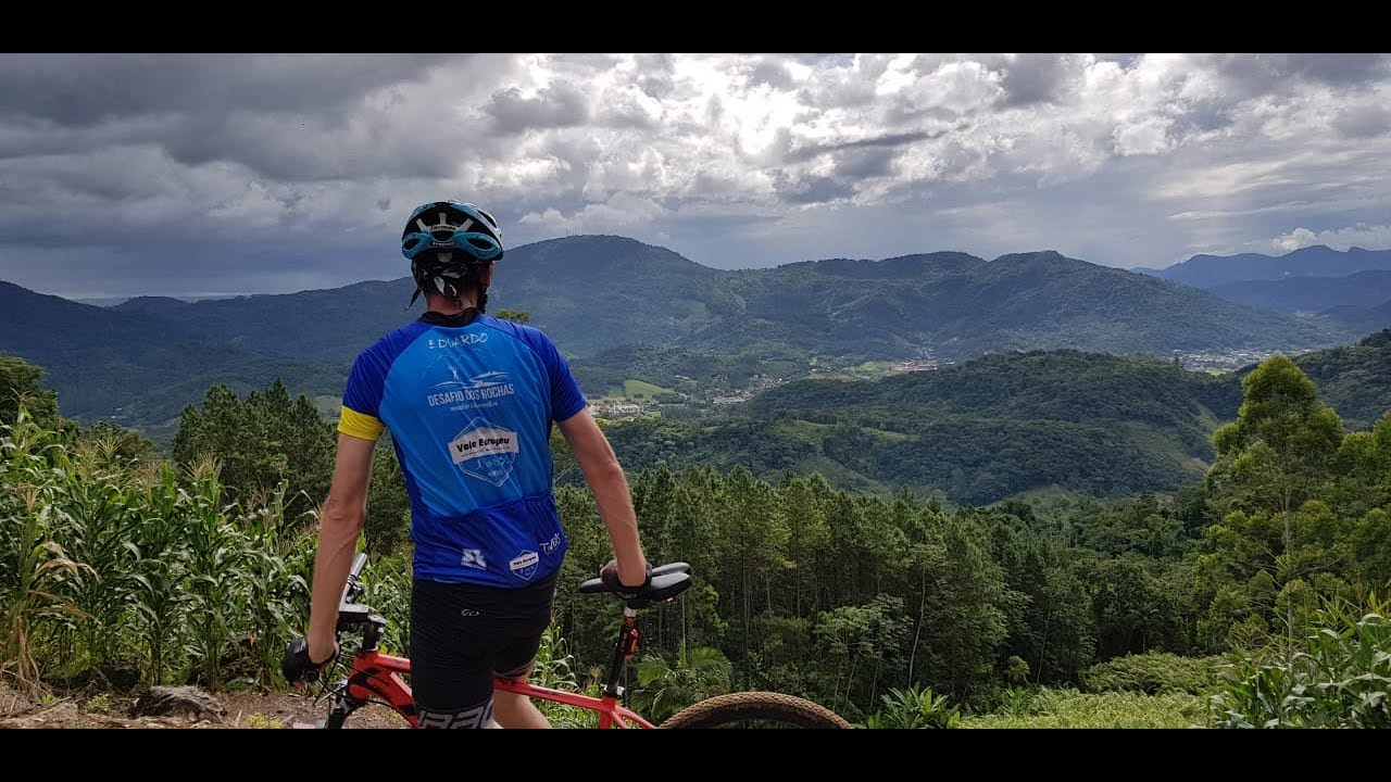 Rodando pelas trilhas do Desafio dos Rochas 2020 - Pomerode
