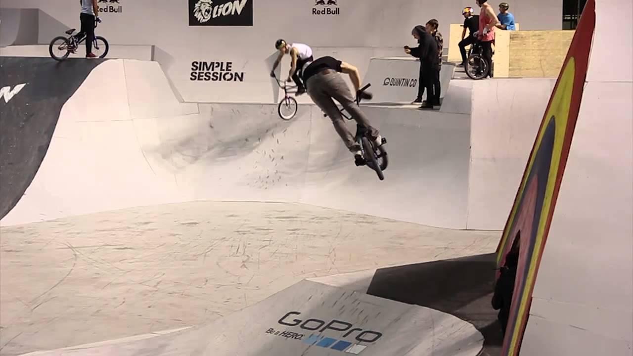 Simple Session 14 Bmx Practice Estonian Riders