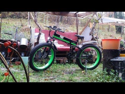 TOLMiN con electric bike 🚲 MX-01 1000w