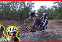 Tandem Mountain Biking: Send It at Markham Woods Mountain Bike Trail - Part II