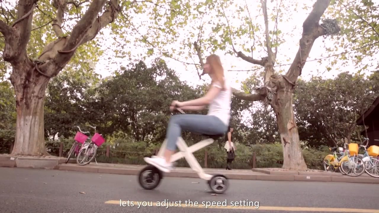 Xcape   Folding E Scooter for Smart Urban Commuting