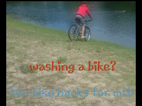 10 bike hacks for mountain biking