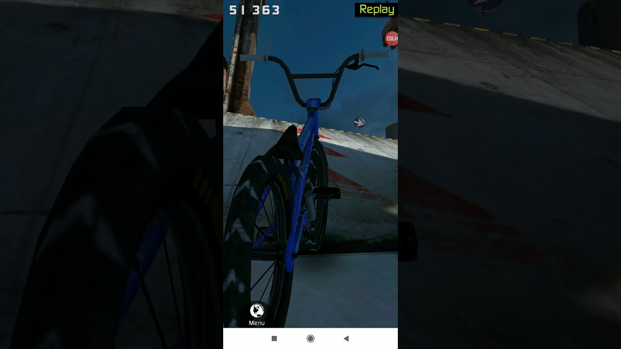 5th ride on Touchgrind BMX