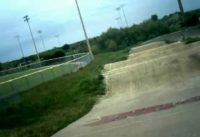 ABA racing at the Hill bmx track Justin's moto