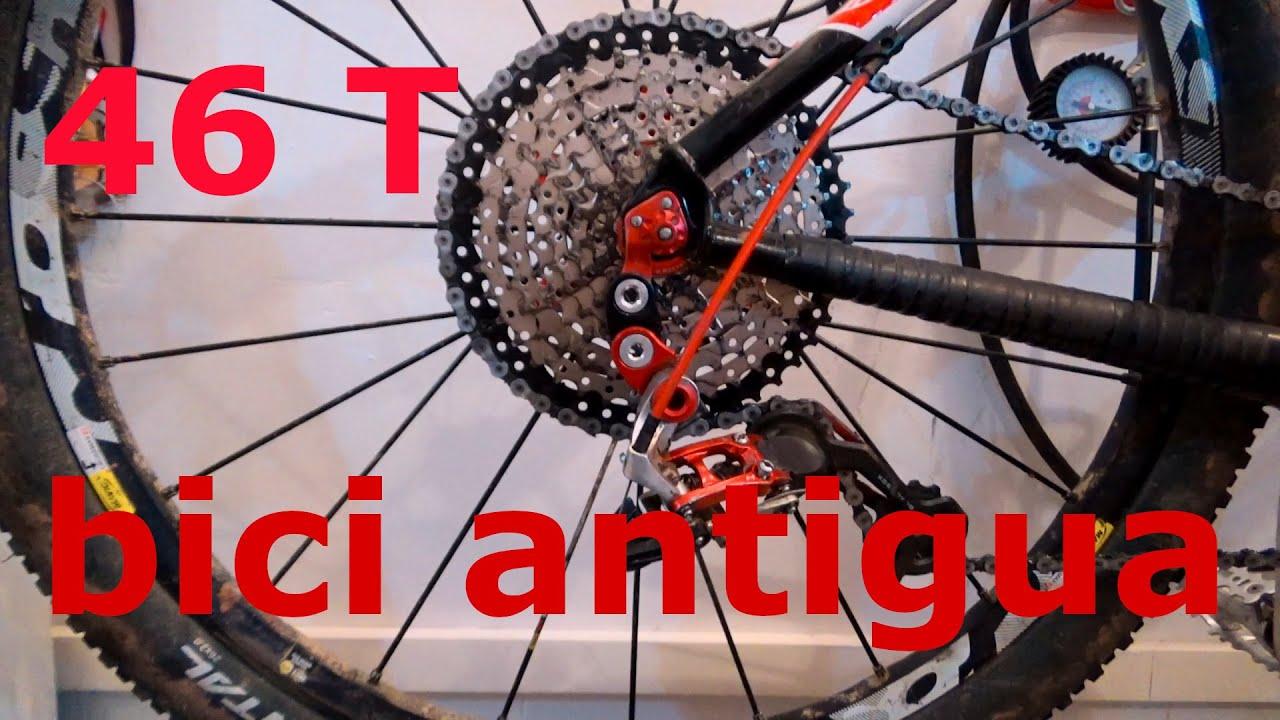 Adaptar supercassette 46 dientes en bici antigua, 2 parte | RT3 Mountain Bike