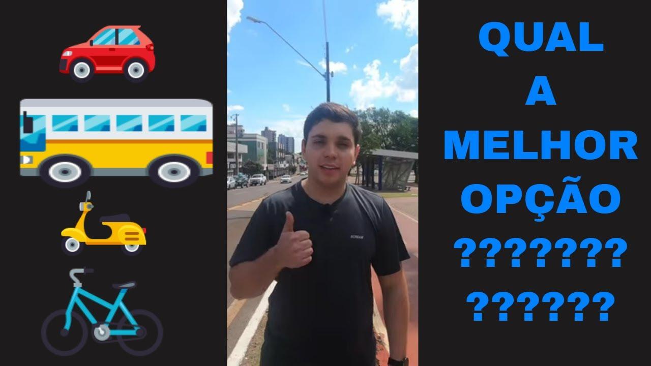BICICLETA É UMA ÓTIMA OPÇÃO ?!