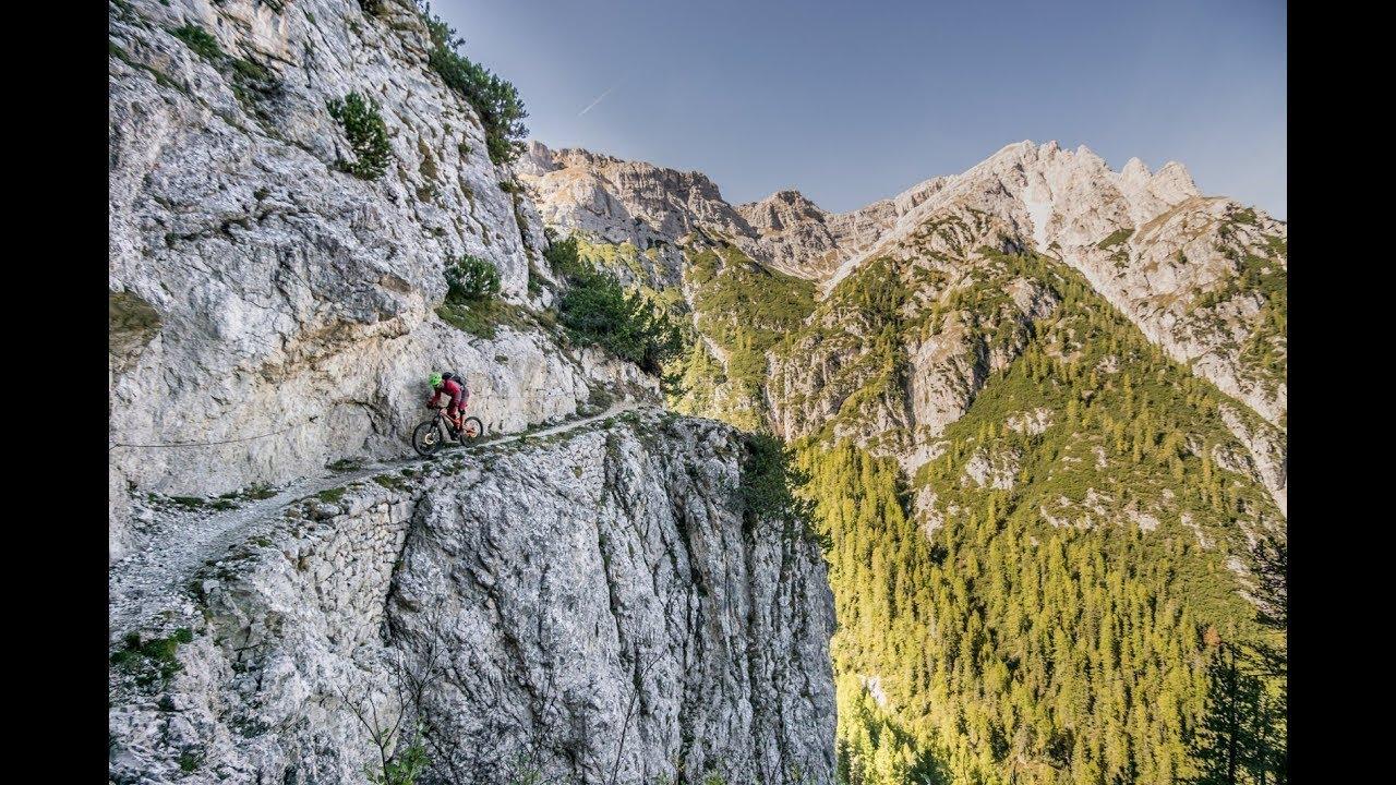 BIKE TOUR VON ST. VIGIL ZUR FANESALM ÜBER DAS ST. ANTONIUS-JOCH / MTB / MOUNTAINBIKE Dolomiten