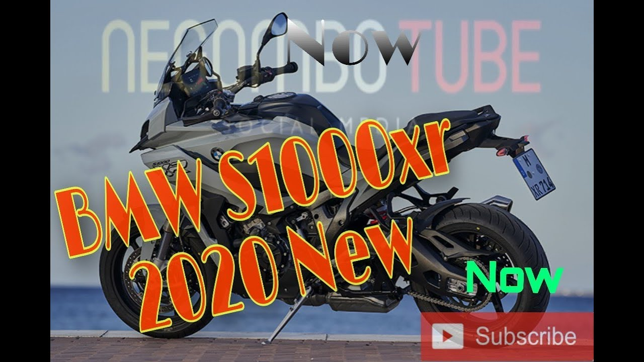 BMW S1000xr 2020 new bike