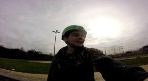 BMX Curitiba 02 - Passando vergonha na pista do Rio Bonito