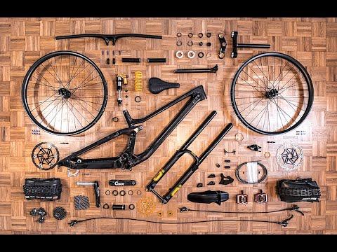 CUSTOM BIKE BUILD - Scott Gambler Raw Carbon