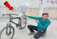 CYCLE SEAT ATTACH A CHAIR | Cycle Seat Modified |  crazy cycle experiment