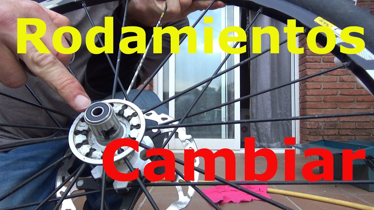 Cambiar rodamientos en Crossmax St de Mavic - RT3 Mountain Bike