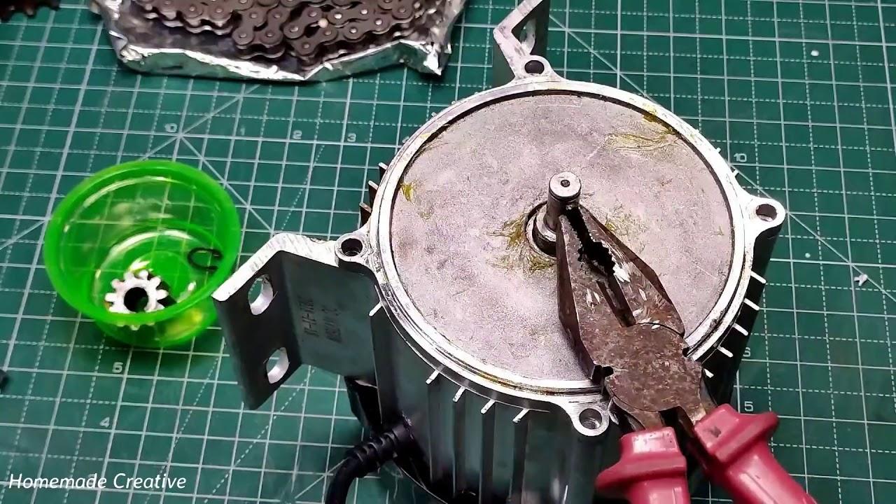 DIY High Speed Electric Bike - at home