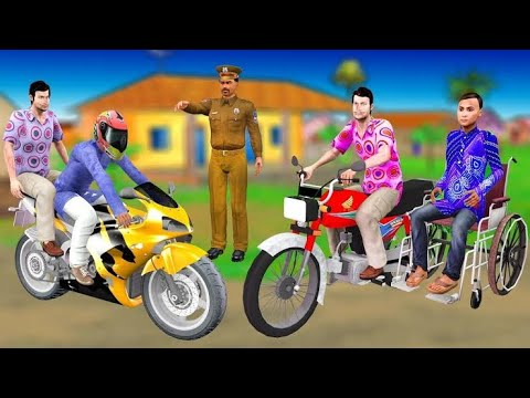 Electric Bike | Hindi Moral Stories | Motu Patlu New Episode 2020